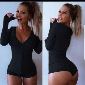 Other - Black onesie sexy